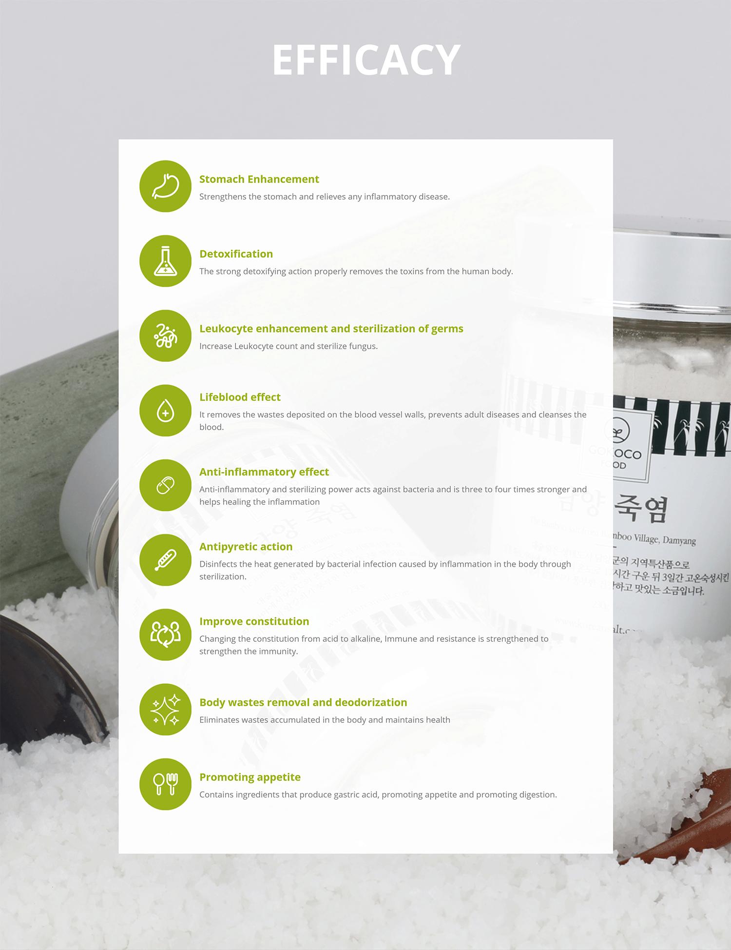 GOKOCO Damyang Bamboo Salt Made in Korea _07