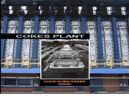 Coke Oven Door(Pd No. : 3003263)  Made in Korea