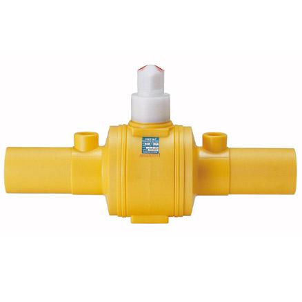 PE ball valve (Pd No. : 3003506)  Made in Korea