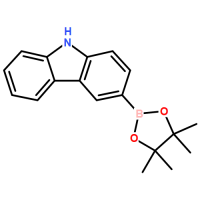 3-(4,4,5,5-tetraMethyl-1,3,2-dioxaborolan-2-yl)-carbazole[855738-89-5]  Made in Korea