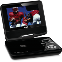 "7"" LED Portable TV/DVD Combo  Made in Korea"