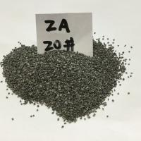 Alumina zirconia grains ZA25 / ZA 40  Low Dust High Toughness  Made in Korea
