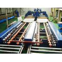 Doorframe and fire door roll forming machine  Made in Korea