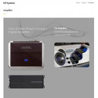 IVI Sytem Amplifier  Made in Korea