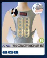 JC-7003 NEO CORRECTIVE SHOULDER BELT  Made in Korea