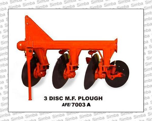 3 Disc M.F. Plough