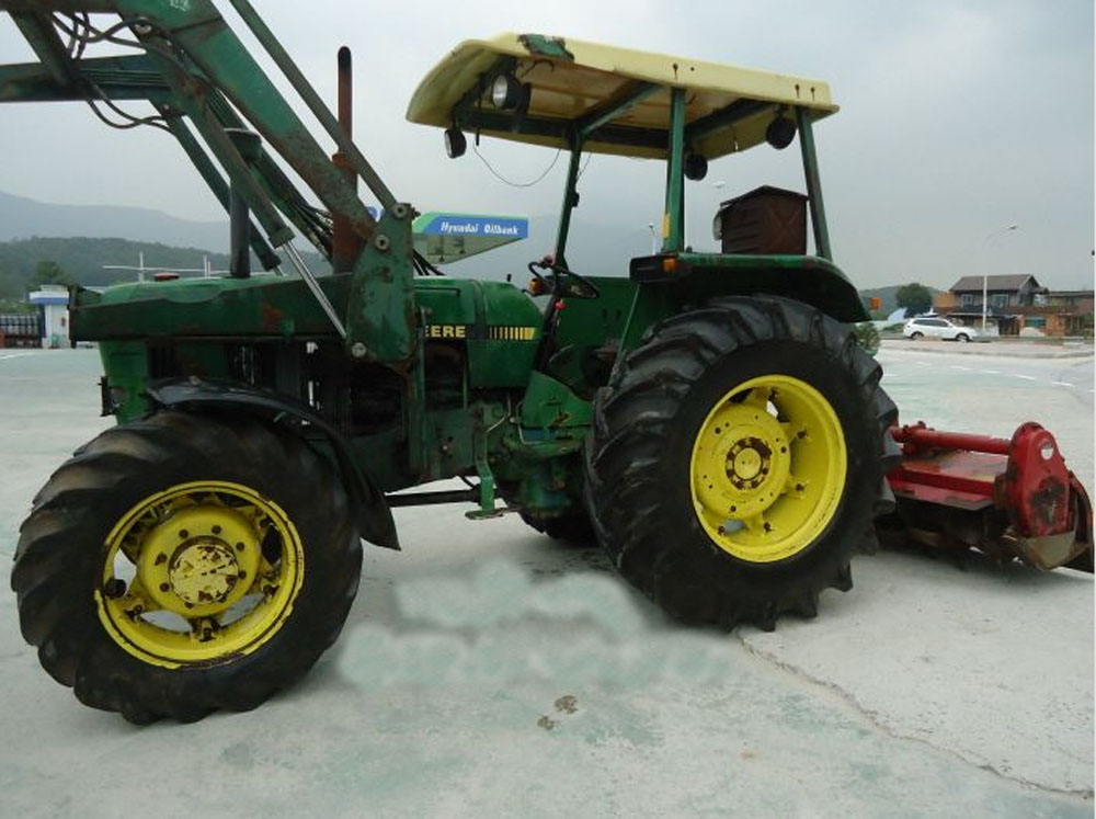 Used Tractors  Made in Korea