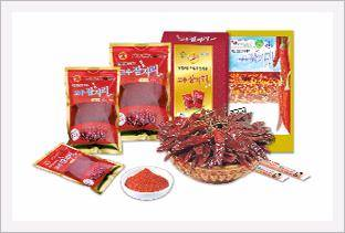 Goesan Sanitized Red Pepper Powder Red Dra...