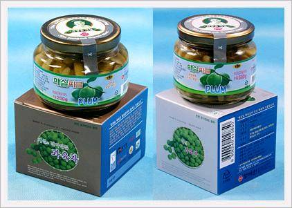 Green Plum Pickle