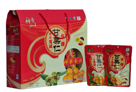 Kuancheng Chestnut With Ordinary Gift BoX  Made in Korea