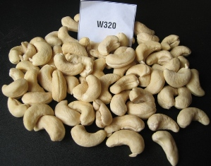 cashew nuts  Made in Korea