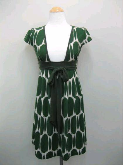 Green Retro Dress
