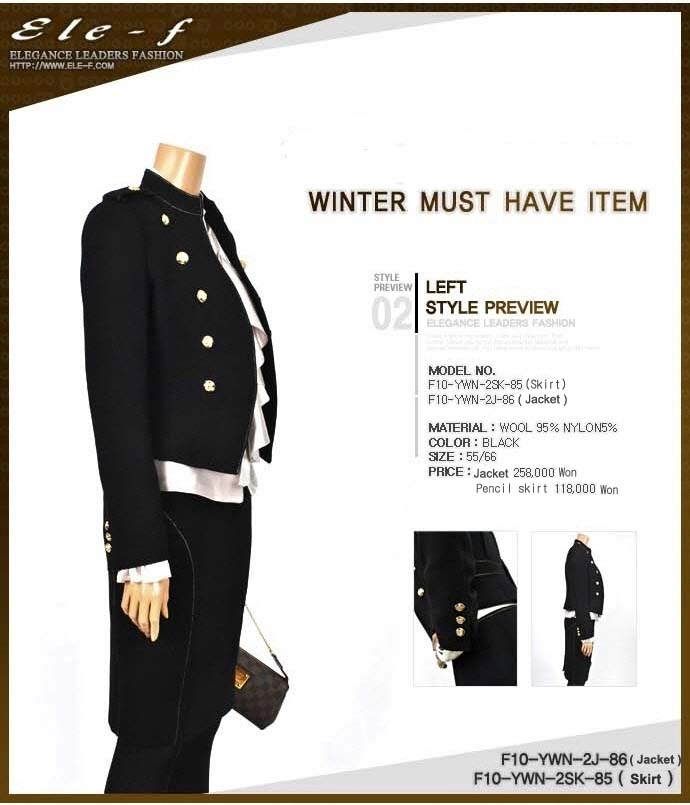 This winter\'s With this dress~!!
