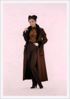 Women\'s ( Ladies ) Maxi Coat-2