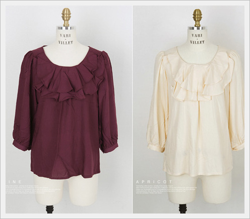 Ruffle Blouse[Villet Co., Ltd.]