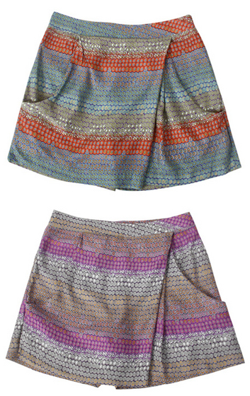 Colored Skirt Shorts[Villet Co., Ltd.]