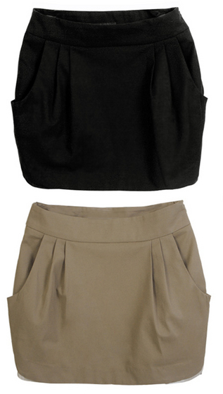 Pocket Skirt[Villet Co., Ltd.]  Made in Korea