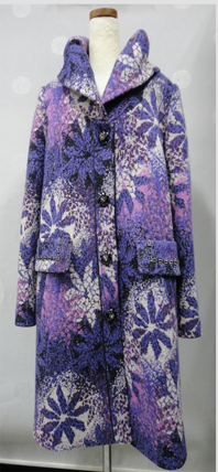 Colorful unique coat NSC-12-052