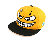 [Amazing cute snapback] GANG SMILE