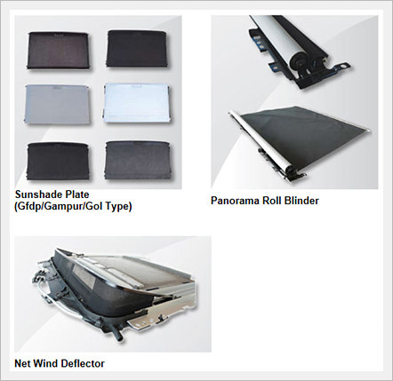 Roof Sysyem Parts
