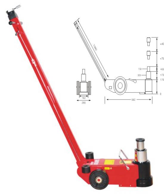 floor jack  Made in Korea