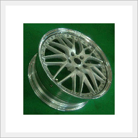 Three-piece Aluminum Wheel