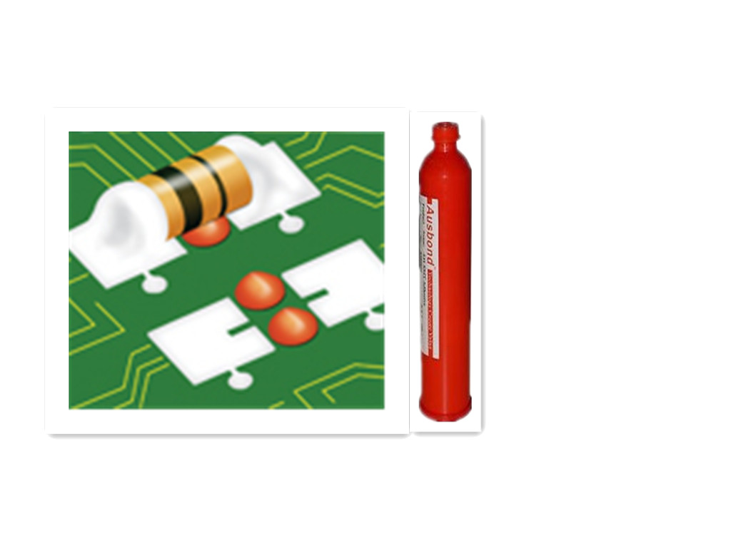 SMD Epoxy red adhesive for PCB