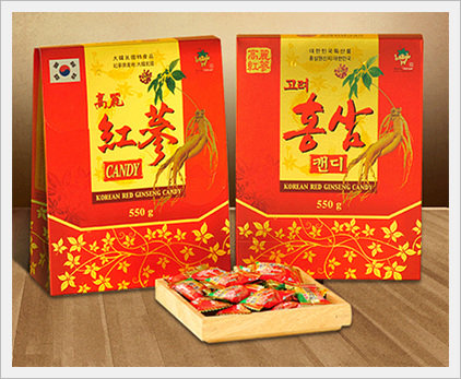 Red Ginseng Extract Candy  Made in Korea
