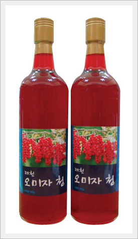 Functions of Omija  Made in Korea