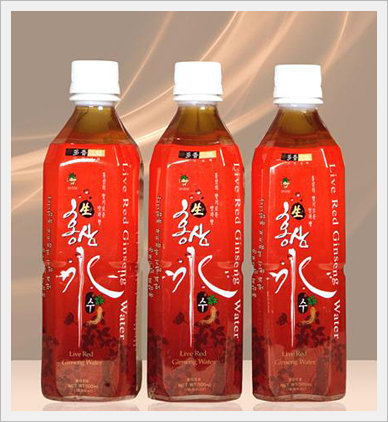 Live Red Ginseng Water