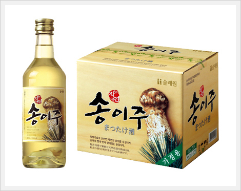 Korean liquor (Song-i Ju)