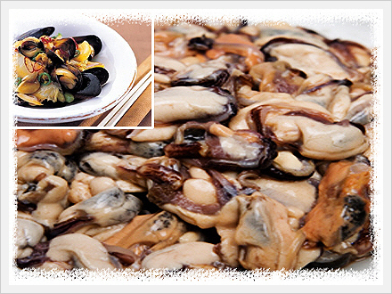 Boiled Mussel Meat