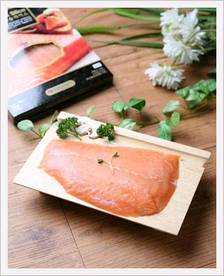 Frozen Atlantic Smoked Salmon Slice
