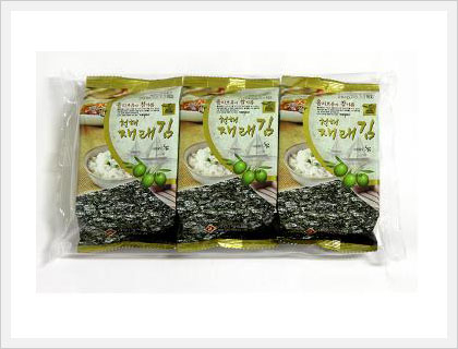 Dried Seasoned Seaweed (3packages Lunch Bo...  Made in Korea