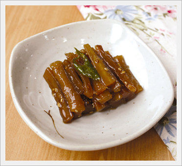 Burdock Simmered in Soy Sauce