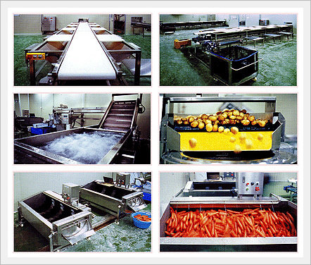 Vegtable Pretreatment System