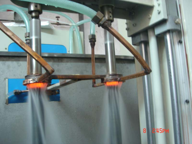 High frequency induction hardening machine...