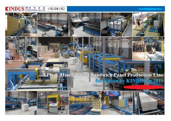 Rock-wool Sandwich Panel Production Line Manufacturers,Rock