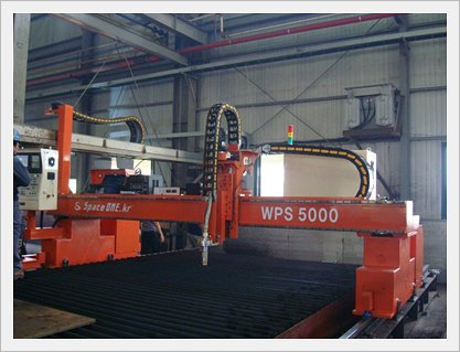 Gantry Type CNC Plasma Cutting Machine (WP...