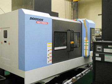 Used Doosan Mynx6500 2010.8 Machining Cent...
