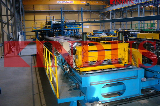 Roll Forming Machine for Sandwich Panel Pr...