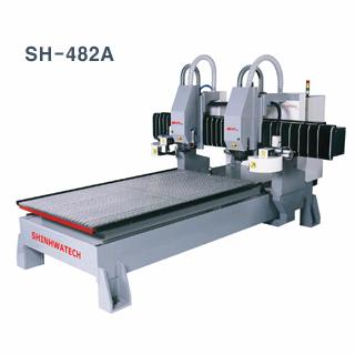 SH-482A Dual Head CNC Engraving Machine