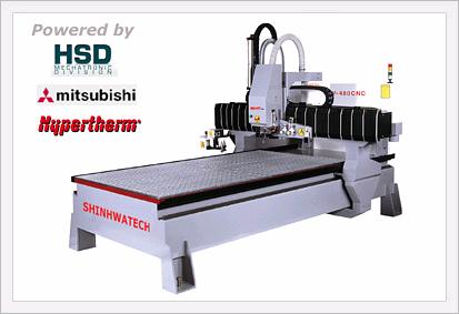 SHP-480V Multi Function CNC Engraving Mach...