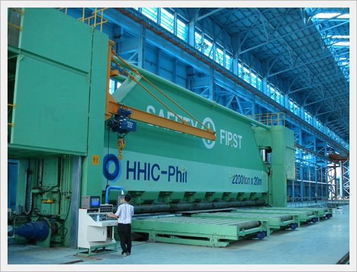 2,200ton * 20M CNC Plate Roll Bending Pres...