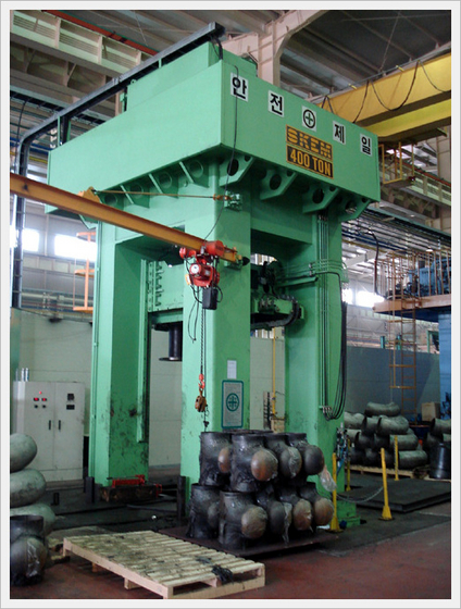 400ton SUS Cold Forming Hydraulic Press