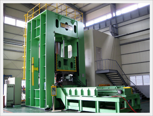 5,000 Ton Hydro-Forming Press