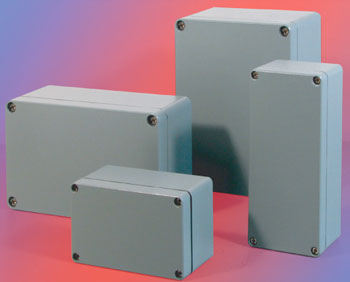 Aluminum Junction Box (Pull Box)  Made in Korea