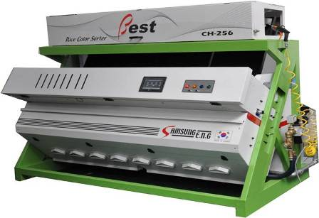 CCD type accurach rice color sorter