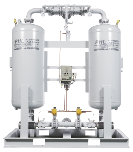 Desiccant Air Dryer/ Heatless type