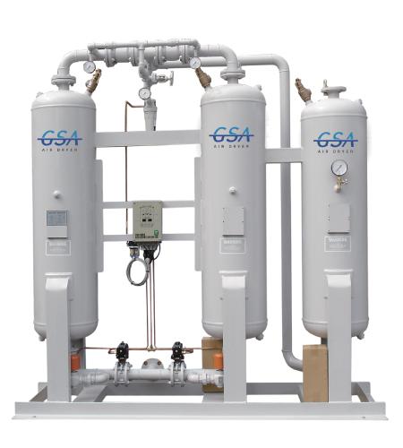 Desiccant Air Dryer  Oilless Master. Desiccant Air Dryer  Heatless type Manufacturers Desiccant Air